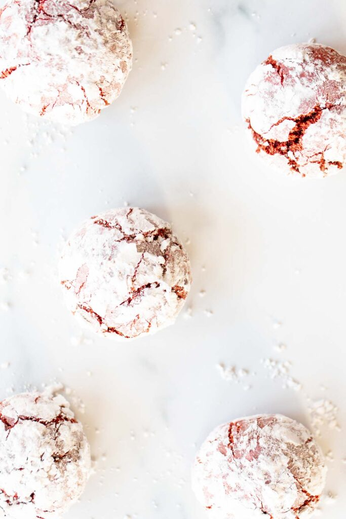 cookies on white surface