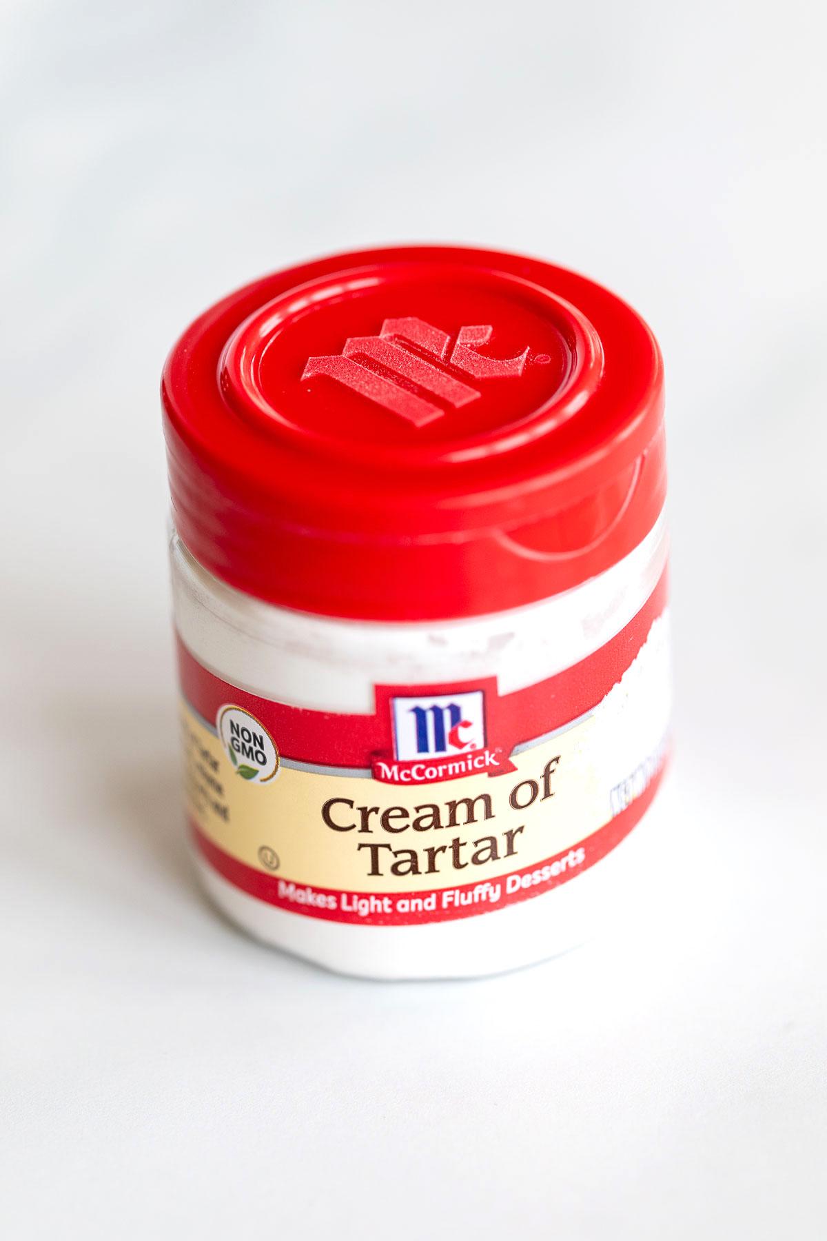 cream of tartar in packaging