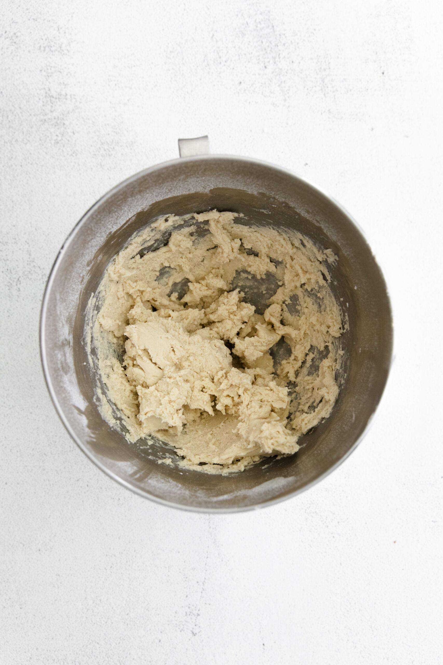 butterscotch shortbread cookie dough