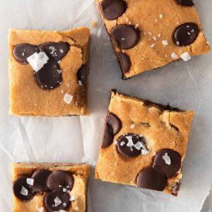 chocolate chip cookie bar recipe